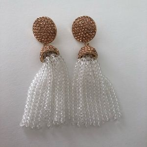 Baublebar Beaded Tassle Earrings